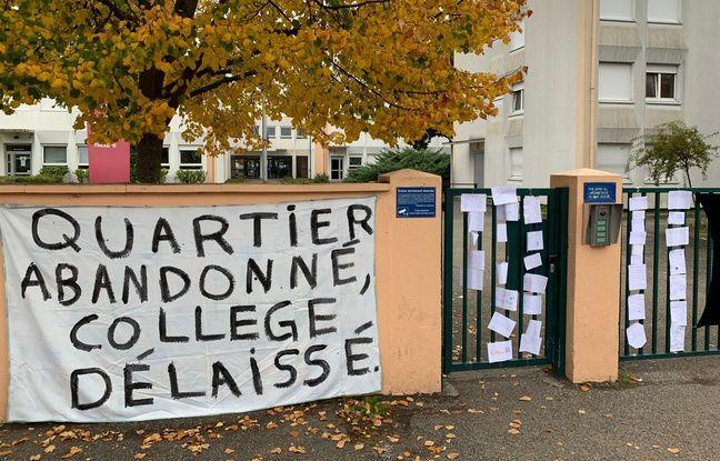 Au collège Jacques Twinger à Koenigshoffen le 15 octobre 2019.
