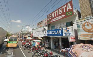 Les braqueurs ont fait irruption dans la Casa loterica circular, à Manaus, dans le nord du Brésil.