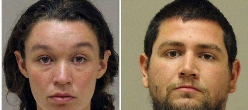 Tatiana Fusari and Seth Welch, 27 ans, accusés d'avoir laissé mourir leur bébé de 10 mois pour des raisons religieuses.