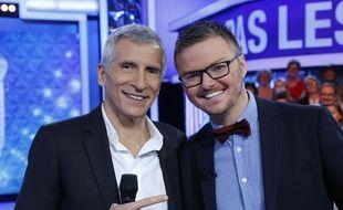 Nagui et le maestro Renaud.