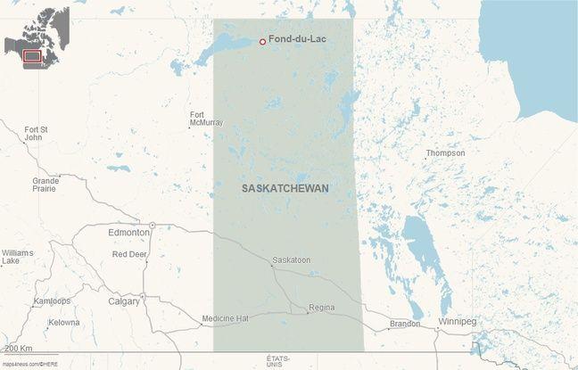 Fond-du-Lac, dans la Saskatchewan (ouest du Canada).
