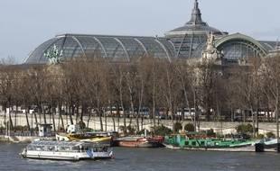 Le Grand Palais à Paris. (Illustration)