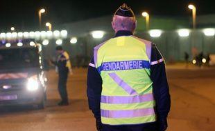 Illustration d'une patrouille de gendarmerie ici aux abords de Rennes.