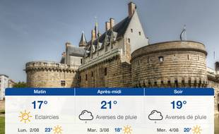 Météo Nantes: Prévisions du dimanche 1 août 2021