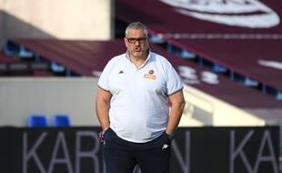 Christophe Urios, le manager de l'UBB.