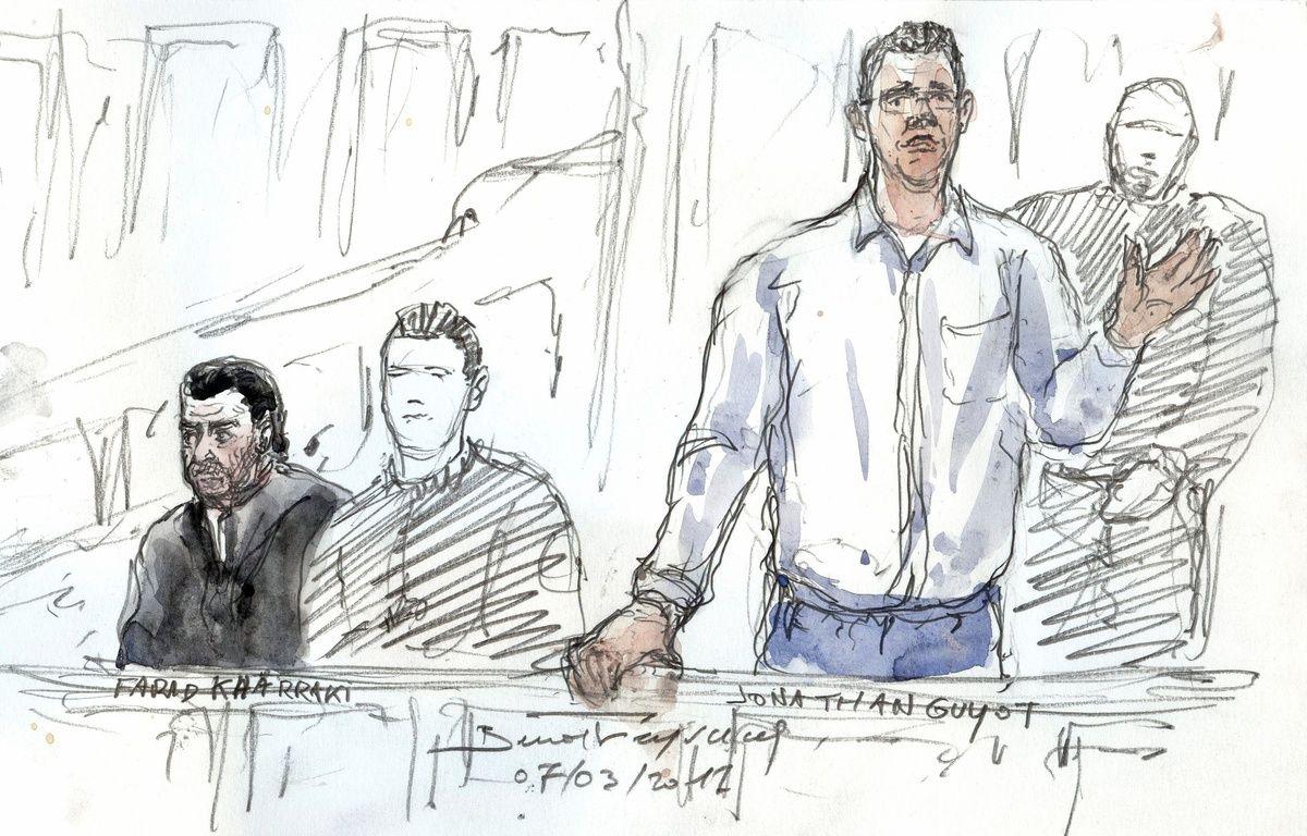 Jonathan Guyot, principal suspect du vol de 48,6 kilos de cocaïne – Benoit PEYRUCQ / AFP