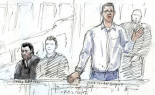Jonathan Guyot, principal suspect du vol de 48,6 kilos de cocaïne
