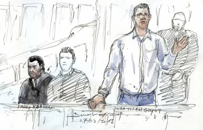 Jonathan Guyot, principal suspect du vol de 48,6 kilos de cocaïne a été condamné à 10 ans de prison.