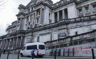 Le palais de justice de Bruxelles, en Belgique. (illustration)