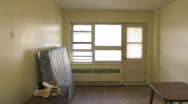 L'appartement de Montréal où logeait Luka Rocco Magnotta, photographié le 31 mai. – Reuters