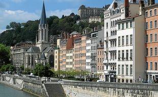 Le quartier Saint-Georges, partie du Vieux-Lyon, aurait pu être longé par une autoroute.