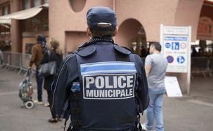 Un policier municipal (illustration).