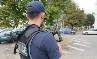 La police est intervenue samedi soir à Vénissieux après des affrontements survenus à l'issue d'un match. Illustration.