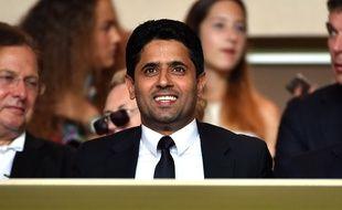 Le président du PSG Nasser Al-Khelaifi.
