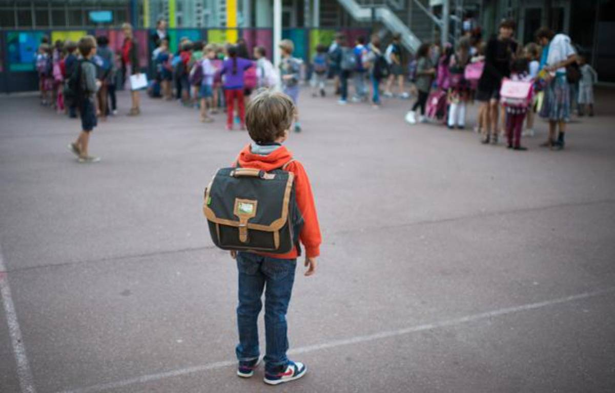 Un élève à l'école primaire à Paris le 3 septembre 2013 à Paris. – MARTIN BUREAU / AFP