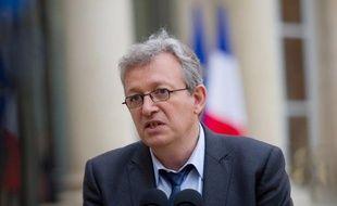 """Pierre Laurent, secrétaire national du PCF, a estimé lundi devant le Conseil national du Parti réuni à huis clos, que les conditions n'étaient aujourd'hui """"pas réunies"""" pour que des communistes entrent au gouvernement."""