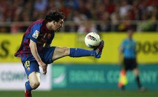 L'attaquant barcelonais Lionel Messi, le 17 mars 2012, à Séville.