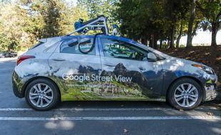 Une voiture Google Street Vi.