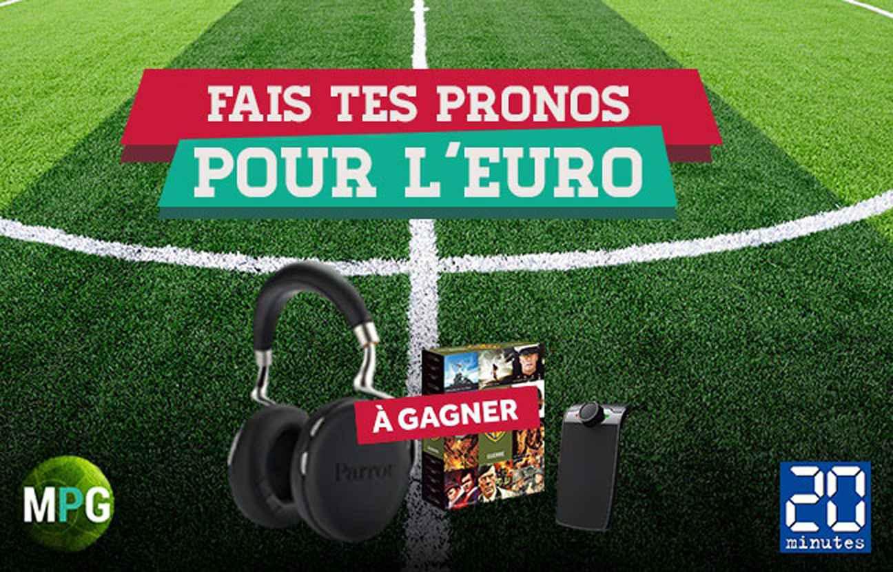 euro 2016 il domine la ligue des pronos 20 minutes mpg. Black Bedroom Furniture Sets. Home Design Ideas