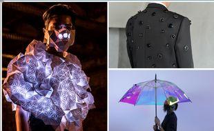 Human Sensor, l'Aposematic Jacket et Oombrella.