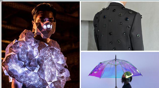 Human Sensor, l'Aposematic Jacket et Oombrella. – Fashion Tech Festival/ Wezzo