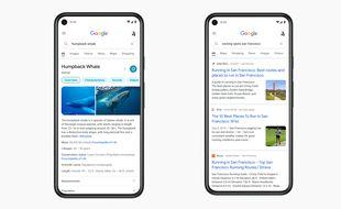 Google s'offre une refonte sur mobile