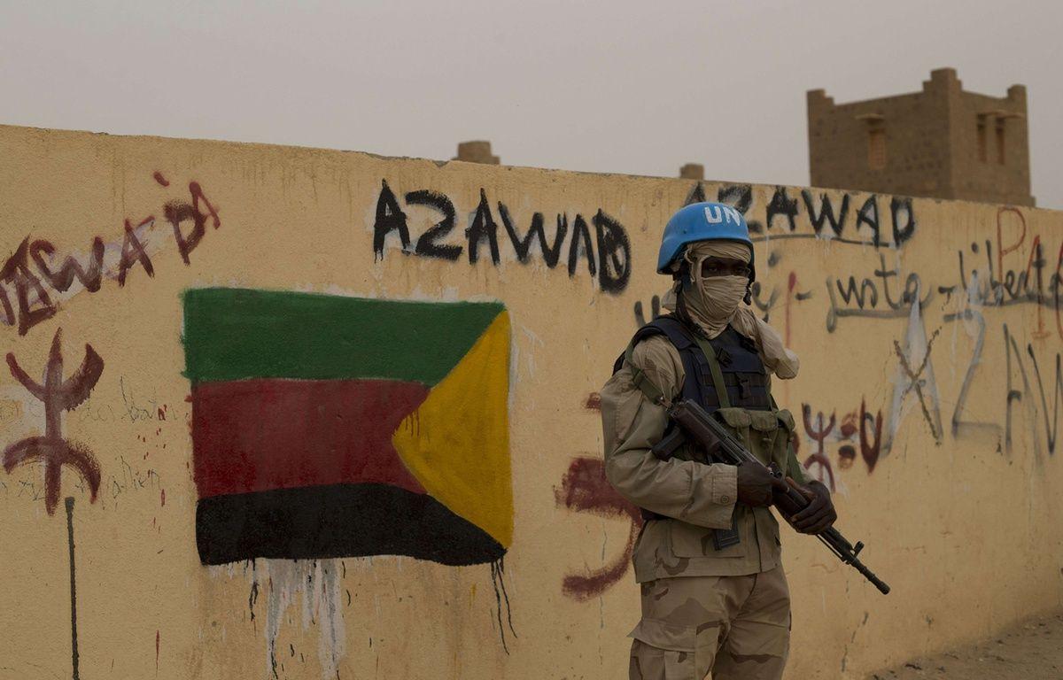 Un casque bleu à Kidal, au Mali (illustration. – Rebecca Blackwell/AP/SIPA