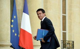 Le chef du gouvernement Manuel Valls