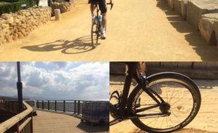 Chris Froome a publié des photos du contre-la-montre par équipes de la Vuelta.