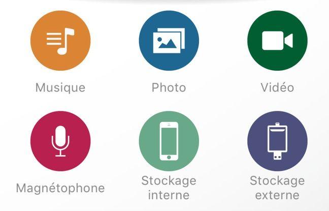 L'application Lexar Mobile Manager permet de piloter simplement ses transferts de fichiers.