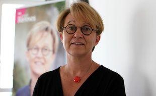 La maire de Rennes Nathalie Appéré, ici le 18 juin 2020 avant le second tour des élections municipales.