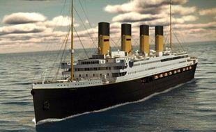 Le «Titanic II» en images de synthèse.