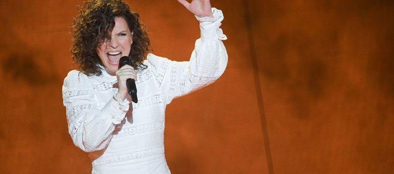 Anne Sila lors de la demi-finale de « The Voice All Stars »
