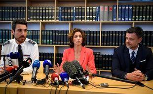 La procureur de la République, Laureline Peyrefitte, a donné une conférence de presse jeudi pour faire le point sur l'enquête.