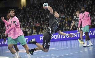 Dragan Pechmalbec, le pivot du HBC Nantes.