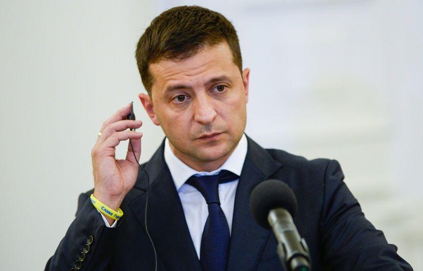 Ukraine : Le président a-t-il déclaré qu'il ne voulait pas que sa photo soit accrochée dans des bureaux ?