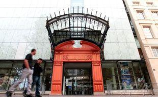 Marseille le 14 octobre 2012 - La bibliotheque de l' alcazar dans le quartier de belsunce