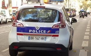 Le jeune homme a fini par être arrêté après une folle course-poursuite dans le centre de Lyon. Illustration.e.