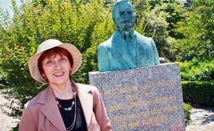 Marie-Rose Mendes, la fille de l'ancien consul portugais de Bordeaux.