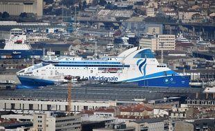 Un ferry de la Méridionale resté à quai à Marseille