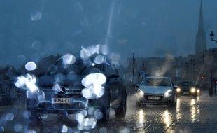 Dans le sud-ouest de la France, l'automne est particulièrement pluvieux.
