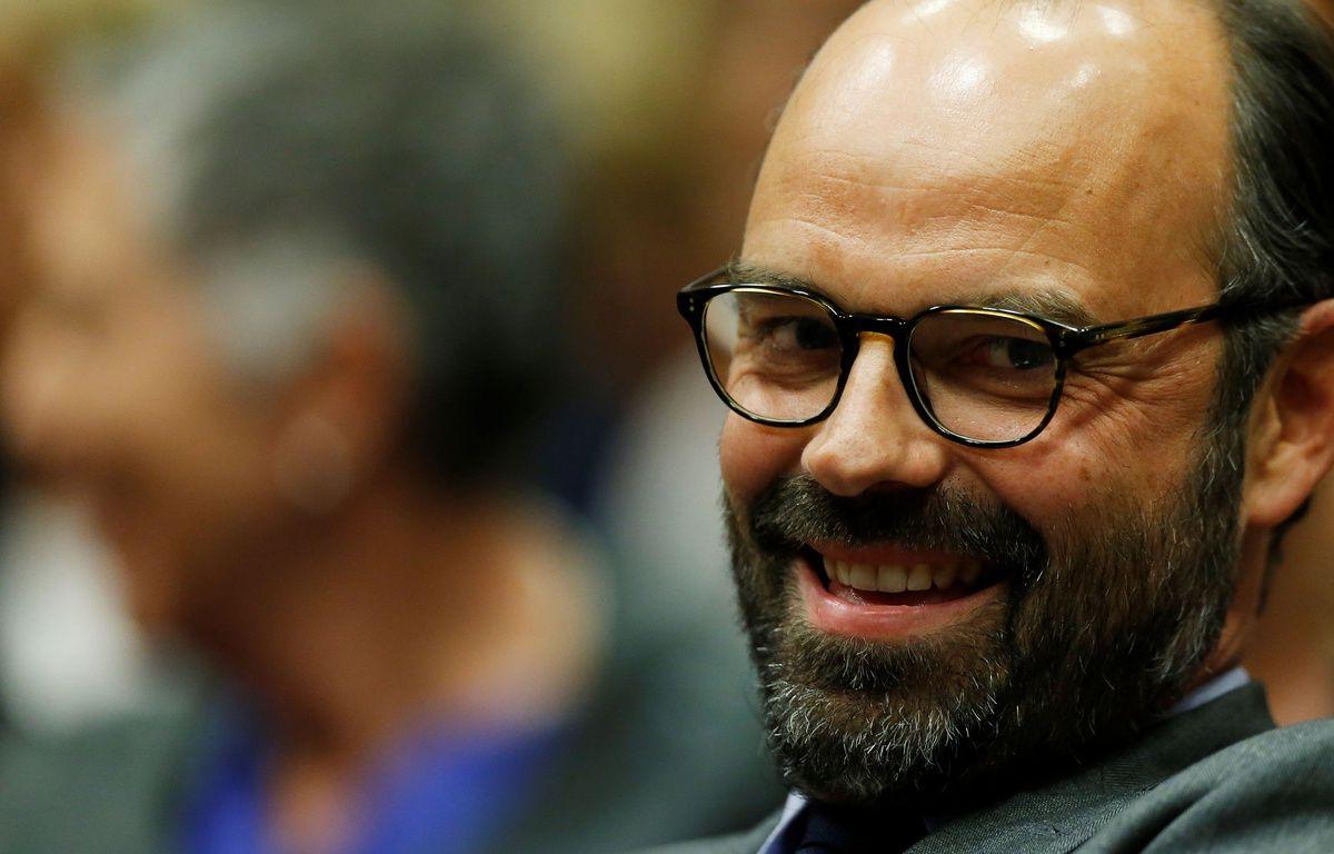Le maire LR du Havre vient d'être nommé premier ministre. / AFP PHOTO / CHARLY TRIBALLEAU – AFP