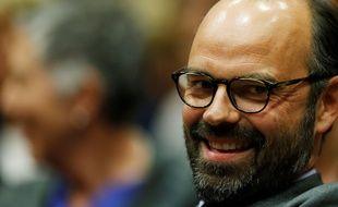 Le maire LR du Havre vient d'être nommé premier ministre. / AFP PHOTO / CHARLY TRIBALLEAU