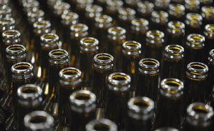 Des bouteilles vides (image d'illustration).