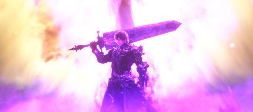 Une image d'illustration du jeu « Final Fantasy XIV », un des opus de la saga.