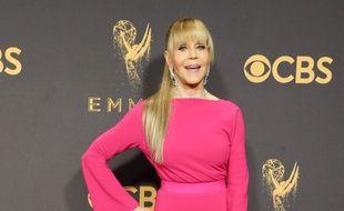L'actrice Jane Fonda aux Emmy Awards