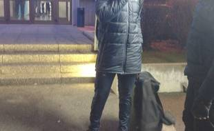 Oups: Caen oublie l'un de ses joueurs, Ismaël Diomandé, au stade de la Meinau à Strasbourg