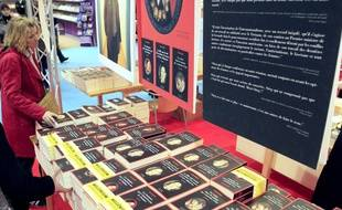 La saga «Millenium» en librairies en France.