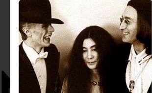 David Bowie, Yoko Ono et John Lennon