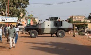 Des soldats au Burkina Faso (illustration).